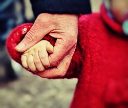 Kind hand