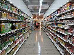 Bevoorrading supermarkten