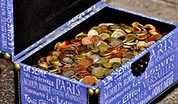 Euro geldkist