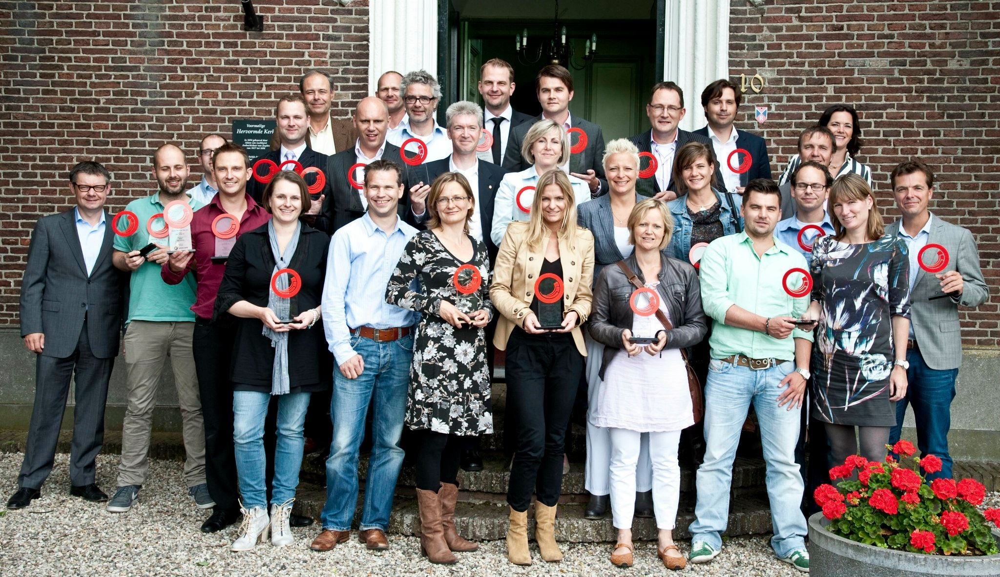 Uitreiking Sitecore Site of the Year awards 2012